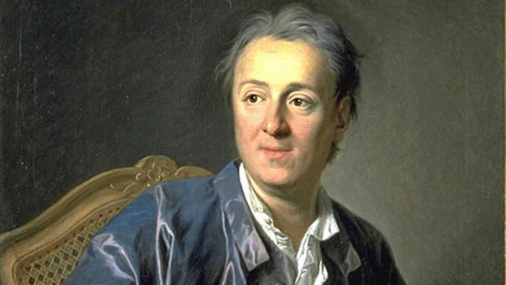 Denis Diderot (Louis-Michel van Loo festménye, 1767) - részlet