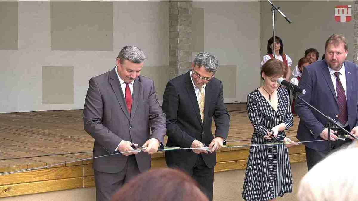 50 éves az Alsószeli Magyar Dalkör - A szabadtéri színpad átadása
