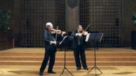 Reiter István hegedűművész 75 éves