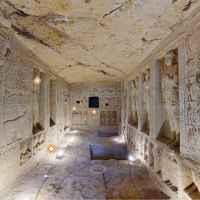 Virtuális túra - A Saqqaraban található Wahti-síremlék