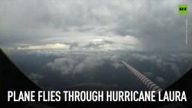 A Laura hurrikán műholdképeken
