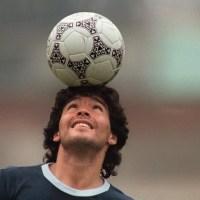 Diego Maradona 60