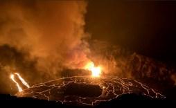 Kilauea eruption 2020