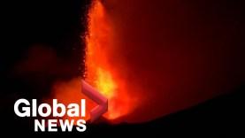Kitört az Etna, földrengés is volt Szicíliában