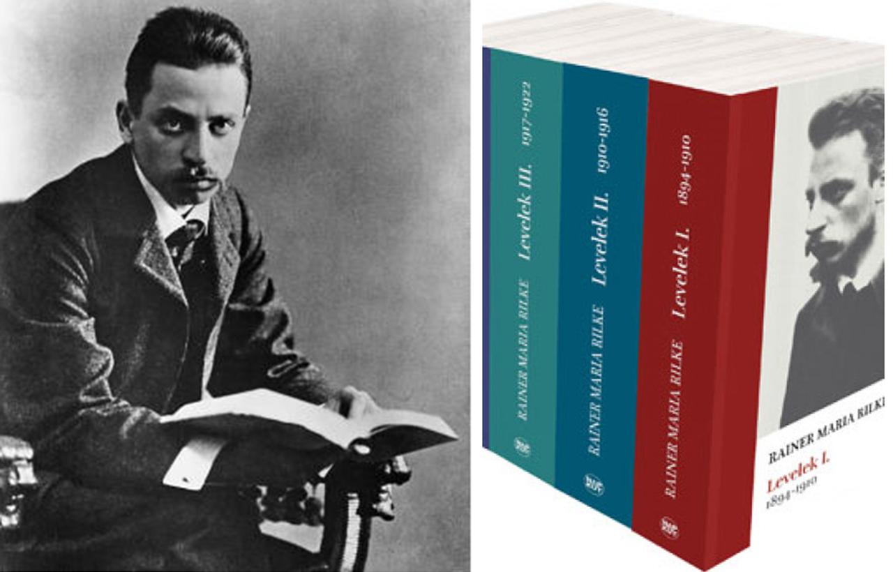 """""""…s már fáj a dal"""" • Rainer Maria Rilke"""