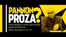 Pannon próza?: A kései Mészöly és a Közép-Európa-gondolat