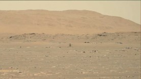 Helikoptert reptetett a NASA a Marson