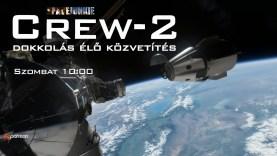 SpaceX Crew-2 dokkolás a Nemzetközi Űrállomáshoz
