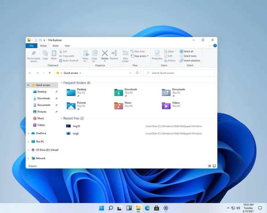 File Explorer a Windows 11-ben