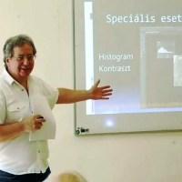 Haraszti Gyula: Videók és fotók készítése és beépítése az előadásokba