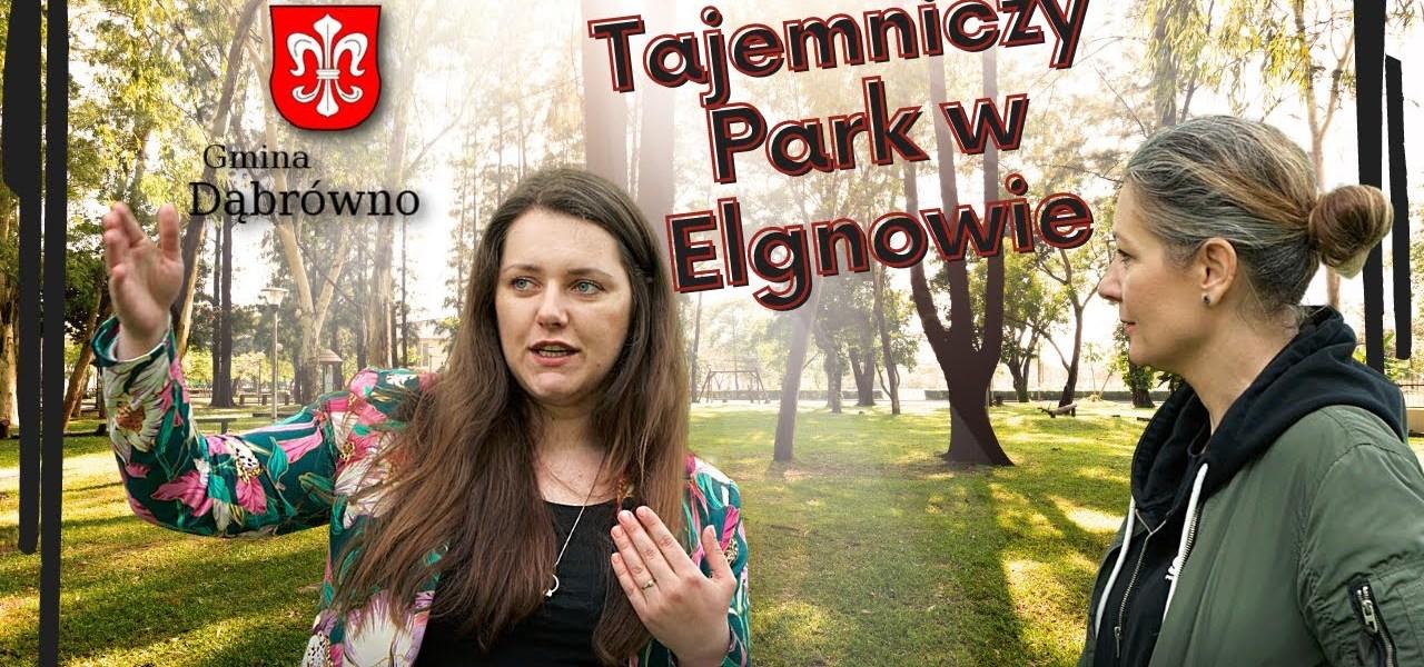 Elgnowo - tajemniczy park.
