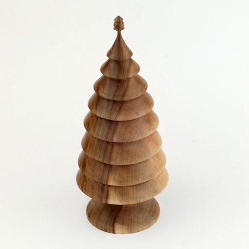 Bradut decorativ din lemn de nuc