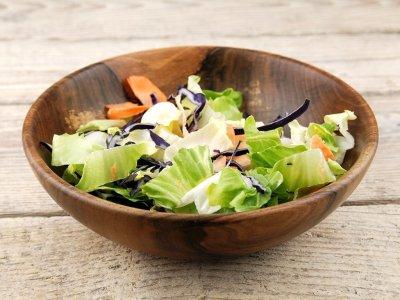 Bol salata din lemn de nuc