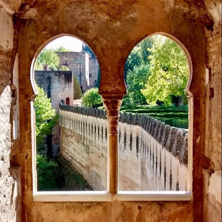 Arco Alhambra cuadrado