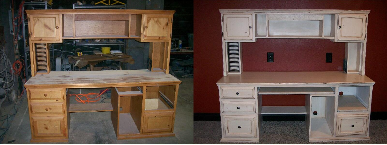 Before And After Telisas Furniture And Cabinet Refinishing Provo Orem Springville Payson
