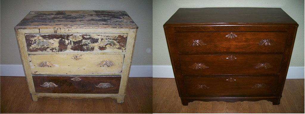 Before and After Telisas Furniture and Cabinet