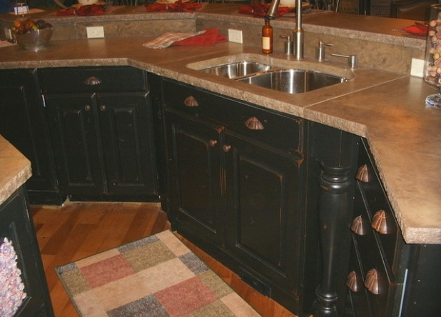 How To Antique Cabinets Black Scandlecandle Com - How To Antique Black Cabinets Building1st.com