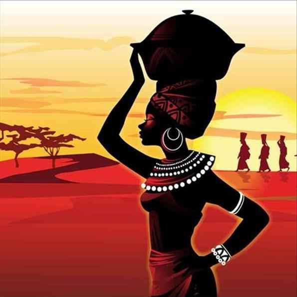 Africa woman