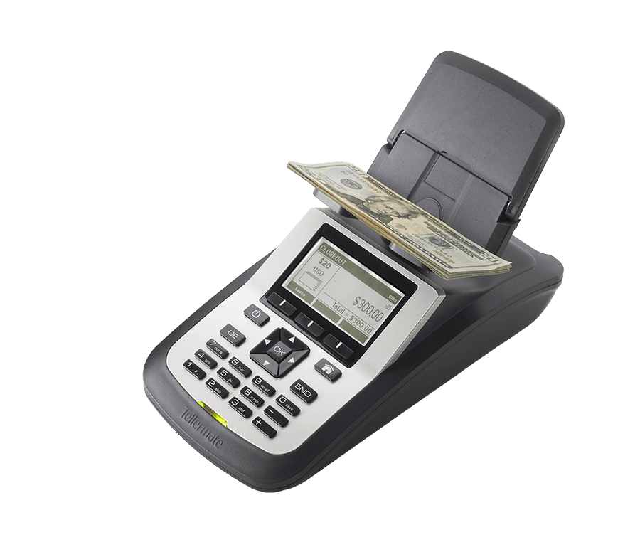 Cash Counting Machine  Tellermate Tix