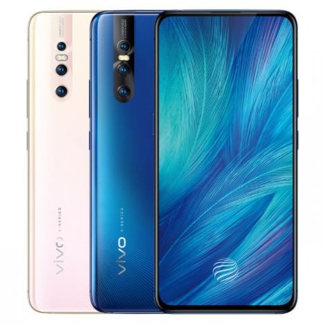 Vivo X27 in Pink and Blue