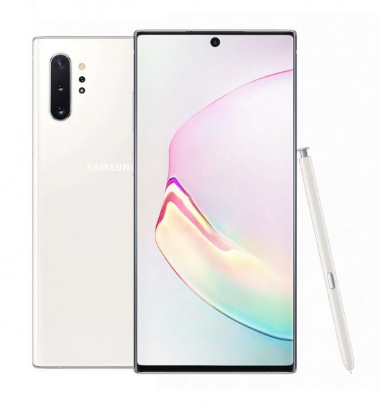 Galaxy Note10 in aura white 1 e1565257577321 Samsung Galaxy Note10+ Specifications and Price
