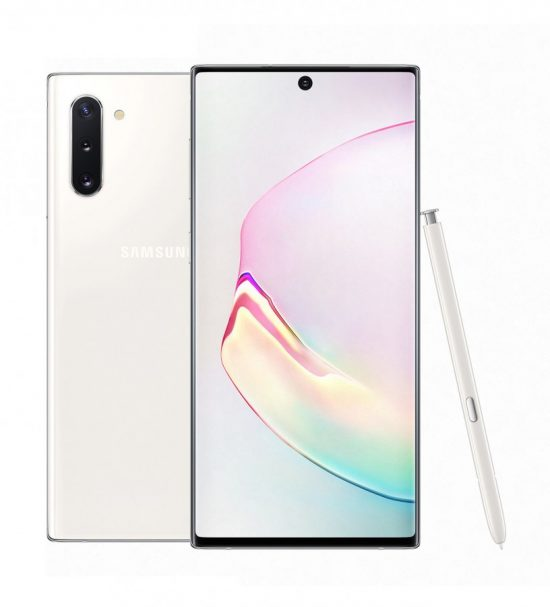 Galaxy Note10 in aura white e1565257635512 Samsung Galaxy Note10 Specifications and Price