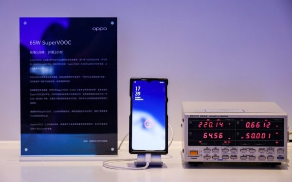 Oppo Launches 65W SuperVOOC and 30W Wireless VOOC Flash Charge