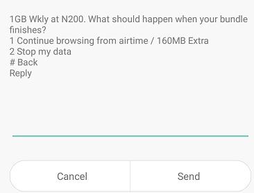 Airtel special data offer