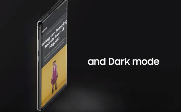 One ui dark mode