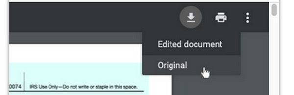 Google Chrome To Let Users Download Edited PDF Files