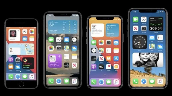 iOS 14 on iPhone