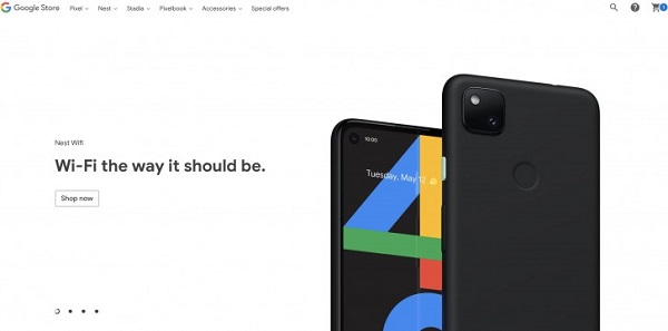 Pixel 4a official render appears online