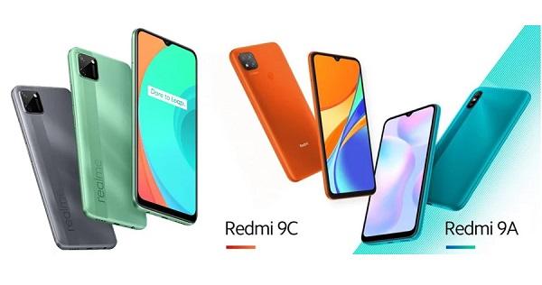 Realme C11 vs Xiaomi Redmi 9A vs Xiaomi Redmi 9C