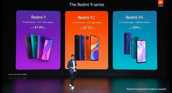 Redmi 9 Series launched