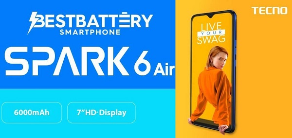 Tecno Spark 6 Air launched