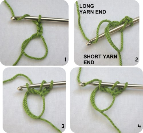 how to crochet treble st around