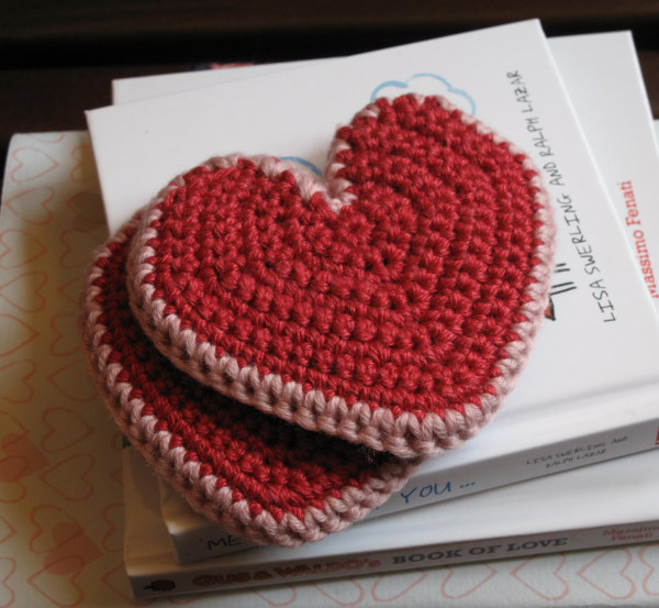 crochet heart pattern
