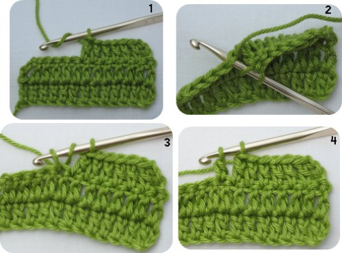 how to crochet a treble stitch