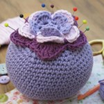 Free crochet pincushion pattern