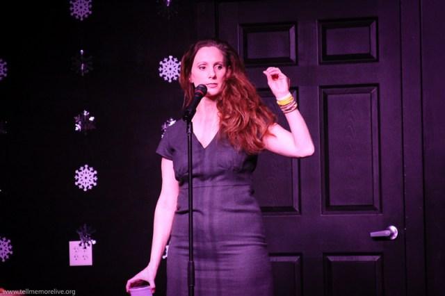 Deb Markham, producer, open mic volunteer. (Photo: Amber Nettles)