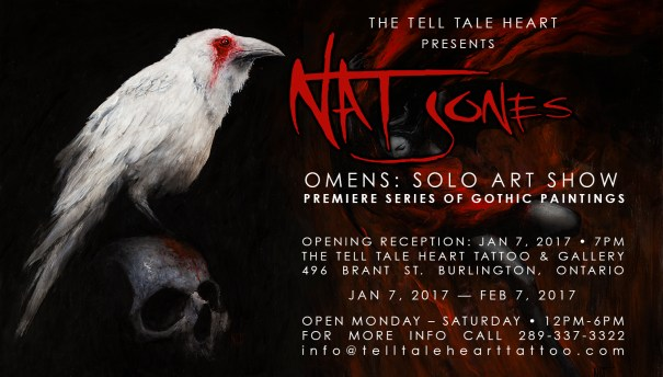 Nat Jones OMENS: A Series of Gothic Paintings