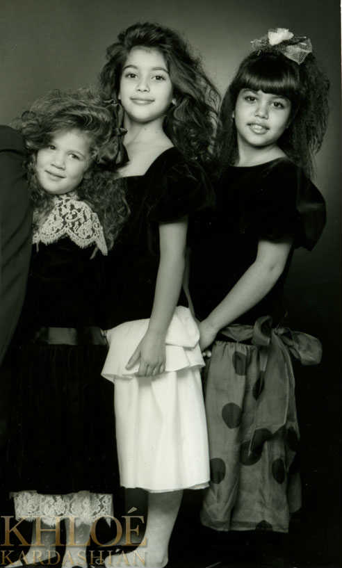 The Kardashians As Youve Never Seen Them Before