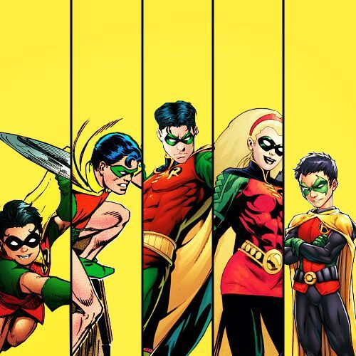 5 robins