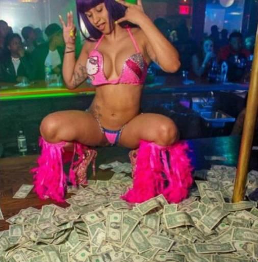 stripper cardi b