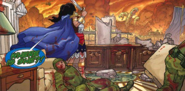 amazonas atacam dc comics