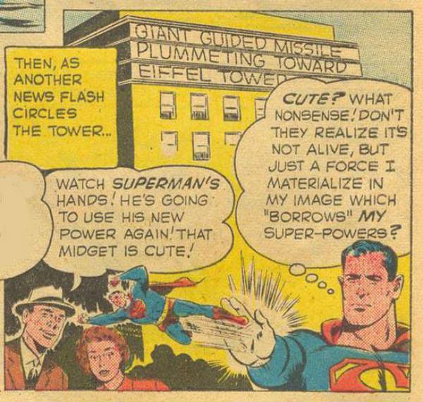 superman mini version