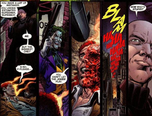 Coringa mata Lex Luthor