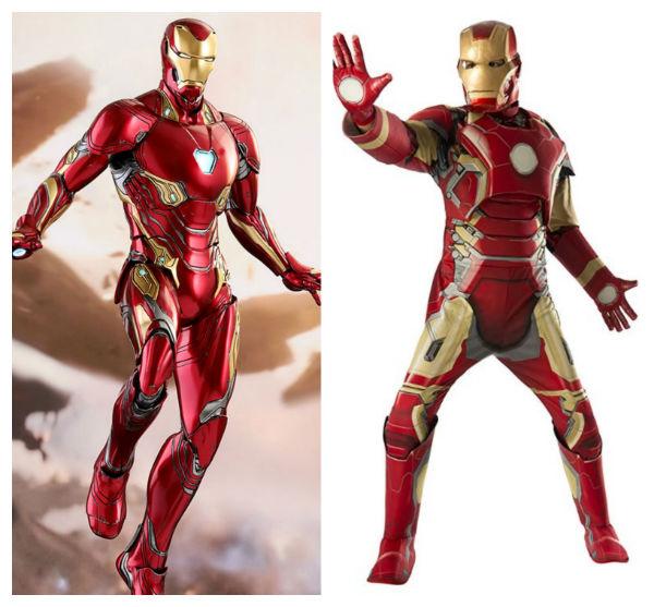 traje do homem de ferro