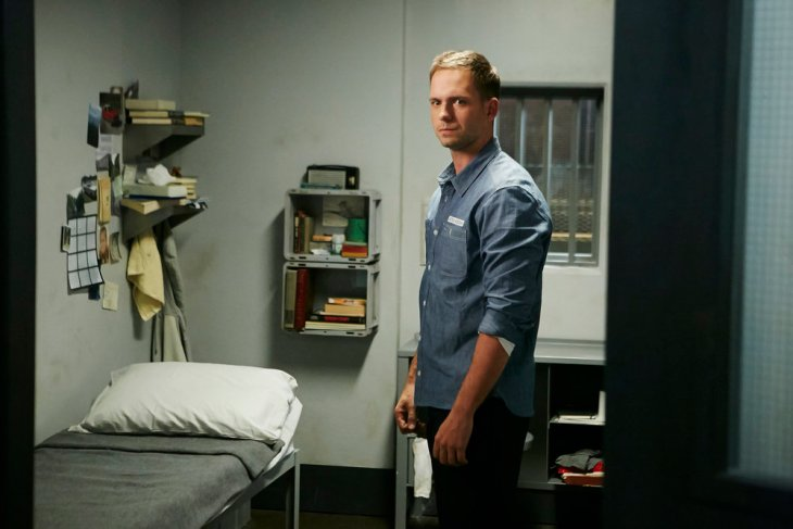 "SUITS -- ""To Trouble"" Episode 601 -- Pictured: Patrick J. Adams as Michael Ross -- (Photo by: Ian Watson/USA Network)"