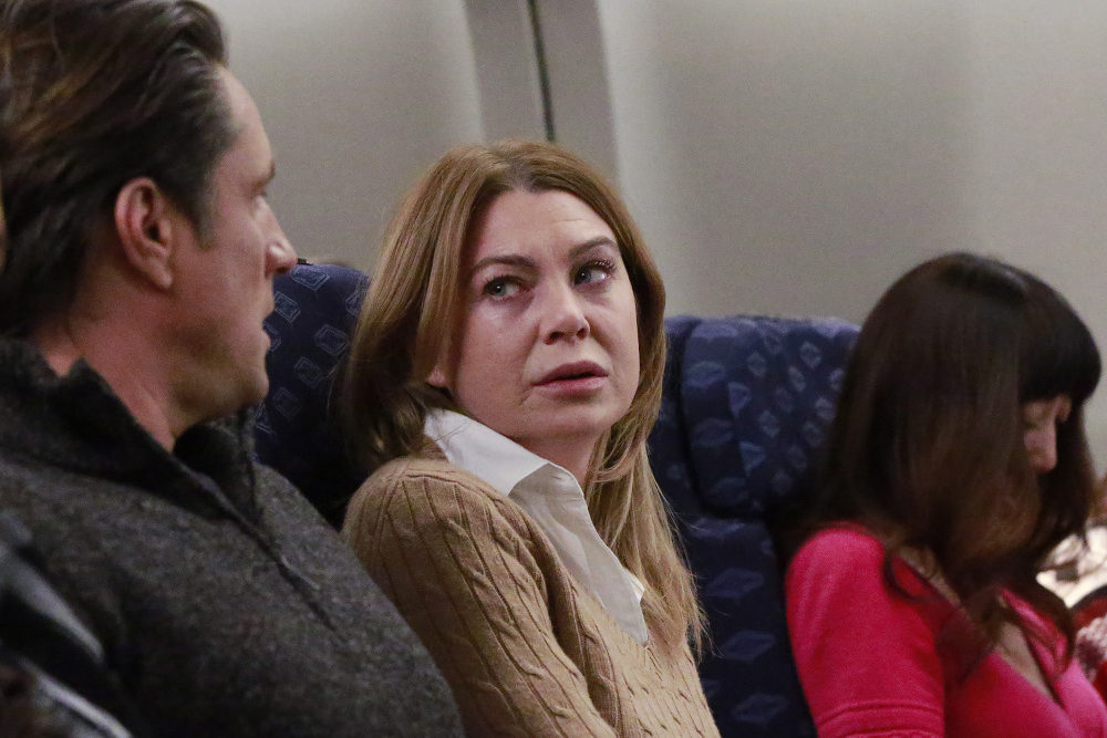 "GREY'S ANATOMY - ""In The Air Tonight"" (ABC/Mitchell Haaseth) JEE YOUNG HAN, MARTIN HENDERSON, ELLEN POMPEO"